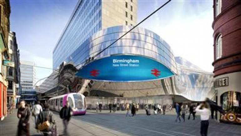Instalação Portas Automáticas – New Street Station Birmingham